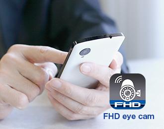 FHD eye camというアプリの写真
