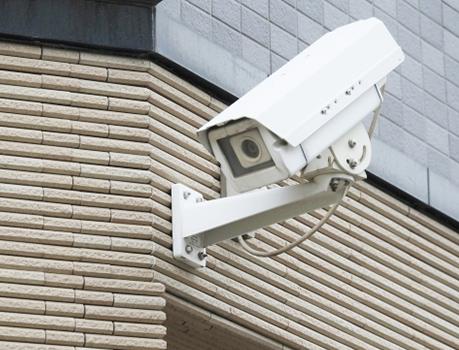 監視カメラの写真